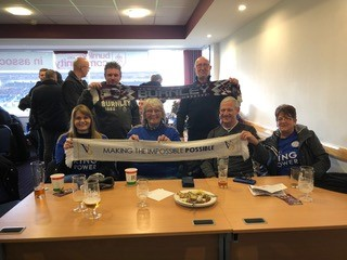 Leicester DSA Visiting Turf Moor on 19 January 2019